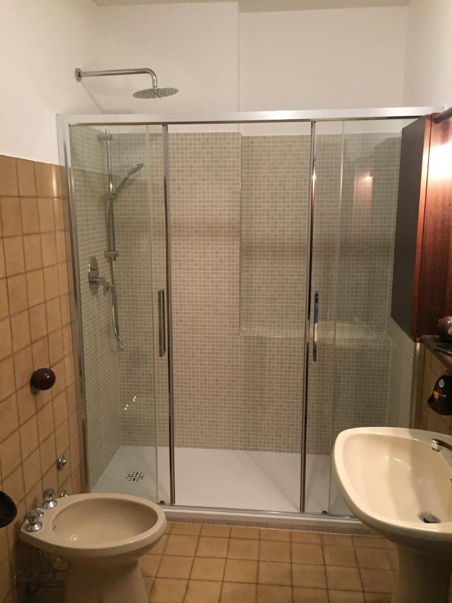Da vasca a doccia: dopo