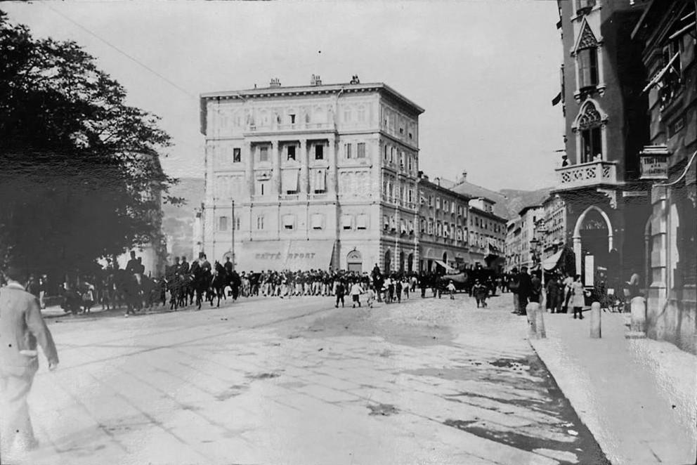via Giulia Trieste storica
